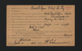 Reports, 1907, 1924, 1959. (Box 97, Folder 9)