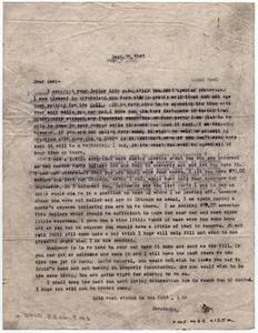[Two Letters from Dr. Edwin D. Moten to Don Moten, September 28 & October 2, 1943]