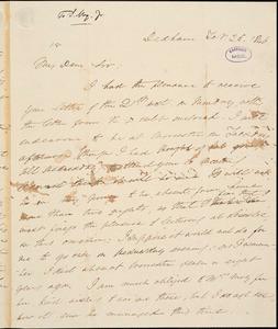 Letter from Edmund Quincy, Dedham, [Massachusetts], to Samuel May, 1846 Feb[ruary] 25