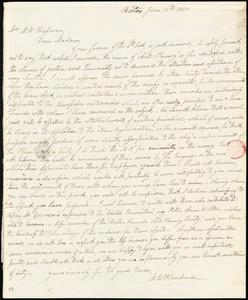 Letter from M.C. Blanchard, Boston, [Massachusetts], to Maria Weston Chapman, 1840 June 12