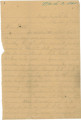 Letter from Alex K. Hall in camp at Augusta, Georgia, to his father, probably in Portland, Alabama.
