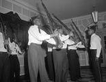 Redd Williams drill team, 1949
