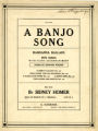 A banjo song : op. 22, no. 4