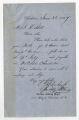 Letter by A. H. Cohen Jr., Carolina Clothing Depot, 261 King St., Charleston, South Carolina, to J. R. Stoll