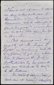 Notes regarding Harriet Martineau by Maria Weston Chapman, [Not before 1876 June 27]