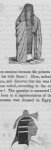 [A veiled Egyptian female; an Egyptian female showing her face.]