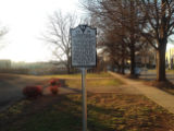 Springfield Baptist Church Marker