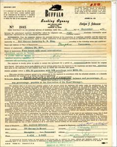 Contract Hiring Bill Harvey ft. B.B. King, 1954