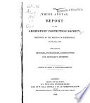 The third annual report of the Aborigines' Protection Society : presented at the meeting in Exeter Hall, June 23rd, 1840 : with lists of officers, subscribers, benefactors and honorary members