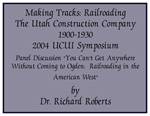 2004-6 Making Tracks Presenter Dr. Richard Sadler