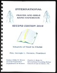 International prayer and bible band handbook, 2010