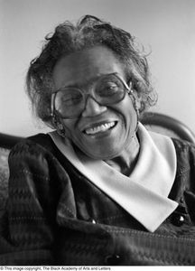 Photograph of Mable Chandler Dallas/Fort Worth Black Living Legends Dallas/Fort Worth Black Living Legends, 1992
