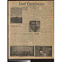 Front page of East Carolinian, 30 January 1958