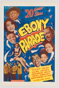 Poster for Ebony Parade
