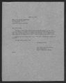 State Supervisor of Elementary Education; Correspondence, Conferences, 1951