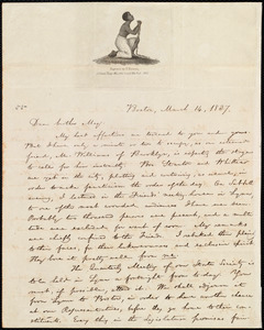 Letter from William Lloyd Garrison, Boston, [Mass.], to Samuel Joseph May, March 16, 1837