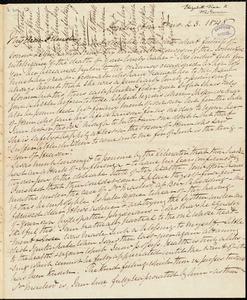 Letter from Elizabeth Pease Nichol, Darlington, [England], to William Lloyd Garrison, [May] 23. 1848