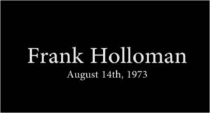 Frank Holloman, Dir. Memphis Fire and Police, August 14th 1973
