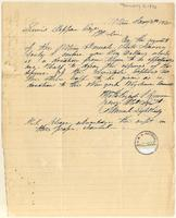 Letter from Samuel Lightbody to Lewis Tappan