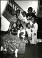 Matthew Daniels (in chair), daughter, Tamaya; daughter, Mariya; nephew, Benjamin; niece, Lillian; son, Matthew III: son, Miles, and son, Marc.