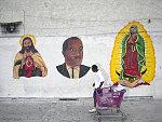 MLK Jr. Mural at Lupita Discount Store, Compton Ave. at 55th St., LA, 2006