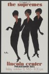The Supremes - Lincoln Center - Philharmonic Hall, Friday, October 15, 1965, 8:30 PM