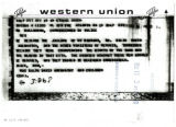 Abernathy Family Telegram