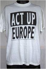 ACT UP Europe [t-shirt], circa 1980s