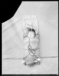 Baby on cradle board, Wichita Anadarko. Oklahoma 1904