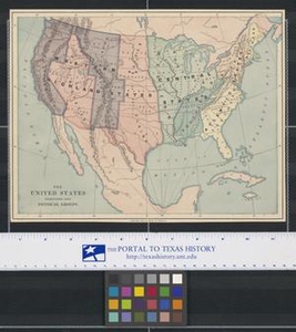 The United States Subdivided into Physical Groups