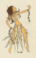Thumbnail for Costume design drawing, slave girl costume, Las Vegas, June 5, 1980