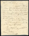 A bill of sale for two female slaves