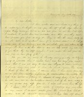 Letter from Charlotte to Samuel Cowles, 1839 May 20.