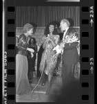 Donna Summer with Betty and Gerald Ford at disco benefit party in Los Angeles, Calif., 1979