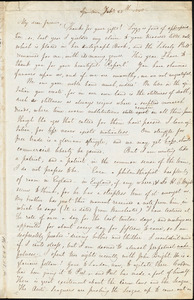 Letter from Sarah Poole, Growtown, [Ireland], to Maria Weston Chapman, Feb. 25th, 1843