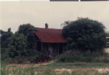 Photograph of Roosevelt Toston's childhood home in Epps, Louisianna, no date