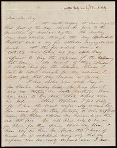 Letter from Abby H. Price, [Hopedale, Mass.?], to Samuel May, [July 5 or 6 / 53?]