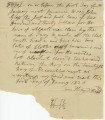Note for the hiring of Davy, a slave
