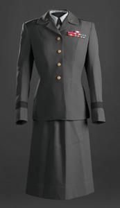 Women's US Army Service uniform worn by Brigadier General Hazel Johnson-Brown