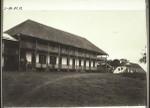 Bremen mission station Amedzofe (Slave Coast). Mission house, seminary Bremer Missionsstation Amedschove (Sklavenküste). Missionshaus; Seminar