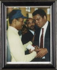 Muhammad Ali Shaking Hands
