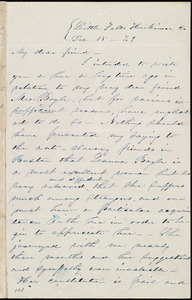 Letter from Abby Kelley Foster, Little Falls, Herkimer Co[unty], [NY], to Maria Weston Chapman, Dec. 15, [18]42