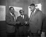 Men at 10th District Council Recall, Los Angeles, 1962