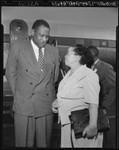 Paul Robeson and Charlotta Bass