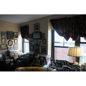 The living room of Reverend Chauncy Moore.