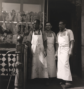 Meatmarket Owner and Butchers, from the project The Most Crowded Block