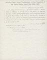 Confederate Amnesty Oath, Mary (?), 1865