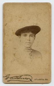 Portrait of a Young African-American Woman