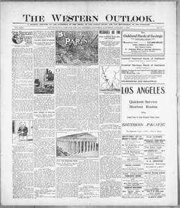 The Western Outlook. (San Francisco, Oakland and Los Angeles, Calif.), Vol. 22, No. 15, Ed. 1 Saturday, January 1, 1916 The Western Outlook