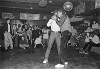 Almighty Kay Gee and Easy AD of the Cold Crush Brothers at Club Negril, 1981